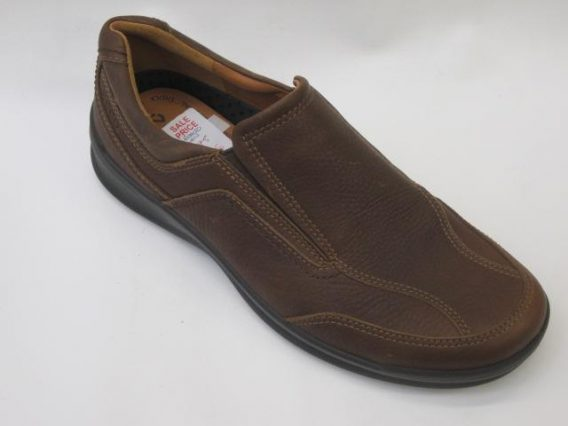 Ecco Remote Brown Mark Kendall Shoes