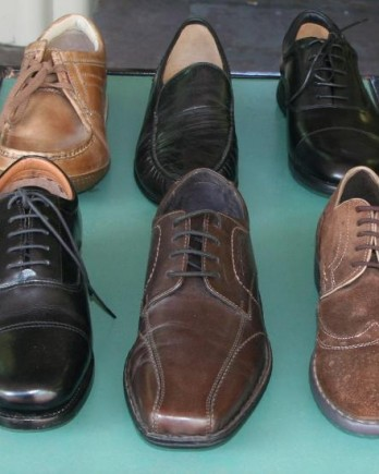 SALE Table at Mark Kendall Shoes for Men, Wellington, New Zealand.