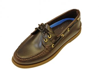 Sperrys A/O Amaretto boat shoe at Mark Kendall shoes, Wellington, New Zealand
