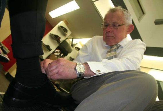 Mark Kendall Shoes Personal Shoe Fit Service
