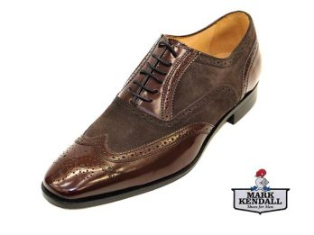 Mercanti Fiorentini Model No. 06650 forma 07 Brogue Mark Kendall Shoes