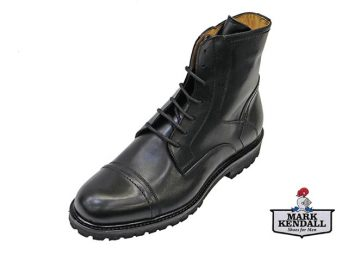 Mercanti Fiorentini model 07025 Black Lace Boot from Mark Kendall Shoes, Wellington, New Zealand