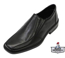 Rieker B0812-00 Black Slip-On