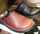Mark Kendall Shoes for Men Joseph Seibel Max clog Tan and Black – side view