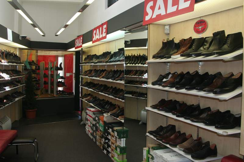 Mark Kendall Shoes for men 2018 Summer Sale view of shop shelves