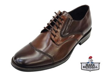 Galizio Torresi model 340104 Dress Derby Tie Lace Up Toe Cap at Mark Kendall shoes, Wellington, New Zealand