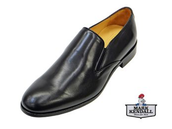 Mercanti Fiorentini 4901 Black Slip On Mark Kendall Shoes